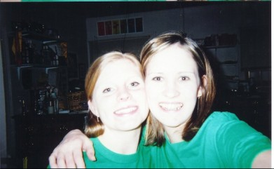 My favorite Unofficial.  Sophomore year with Amanda.  We both look so young....love love love!